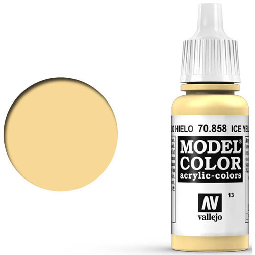 Vallejo Model Color Paint: Ice Yellow