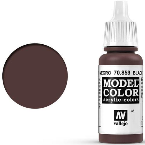 Vallejo Model Color Paint: Black Red