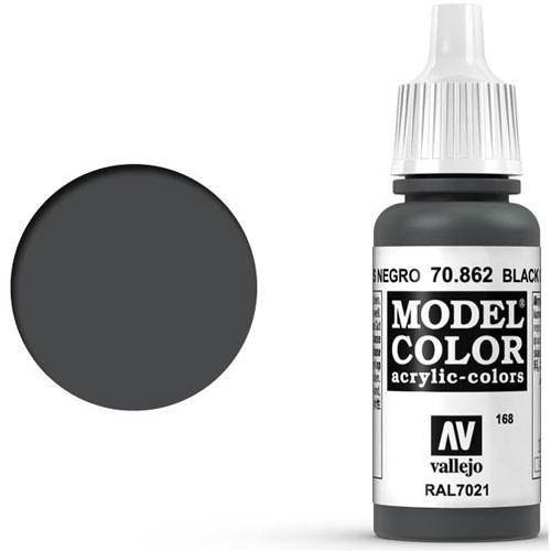 Vallejo Model Color Paint: Black Grey