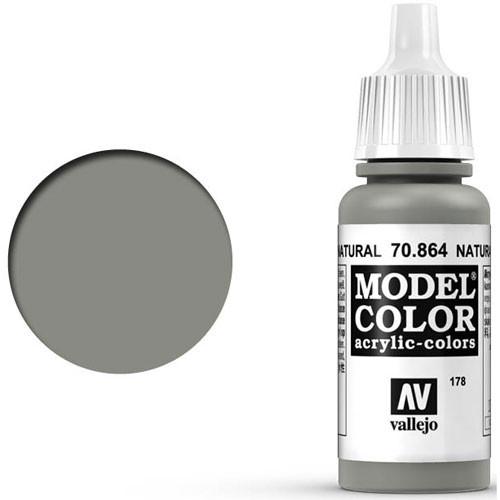 Vallejo Model Color Paint: Natural Steel