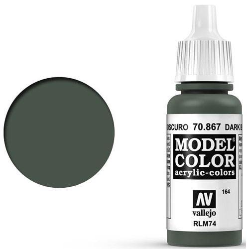 Vallejo Model Color Paint: Dark Blue Grey
