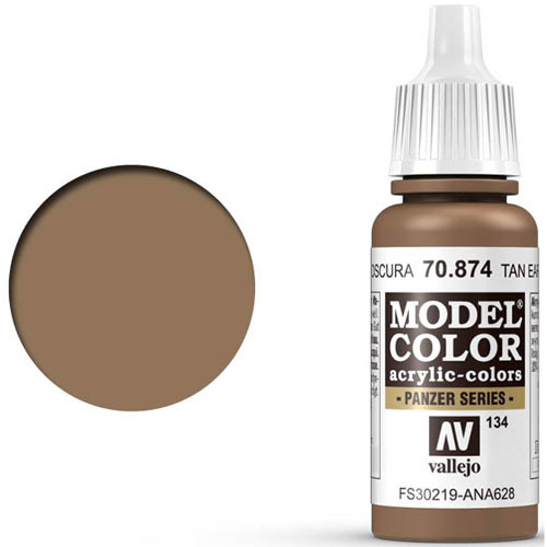 Vallejo Model Color Paint: USA Tan Earth