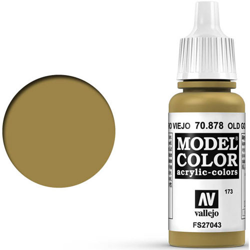 Vallejo Model Color Paint: Old Gold