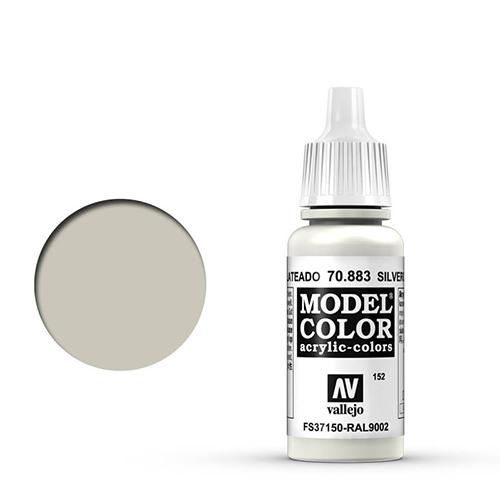 Vallejo Model Color Paint: Silver Grey