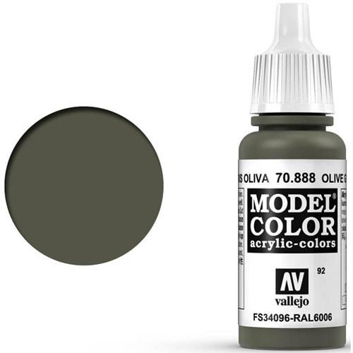 Vallejo Model Color Paint: Olive Grey