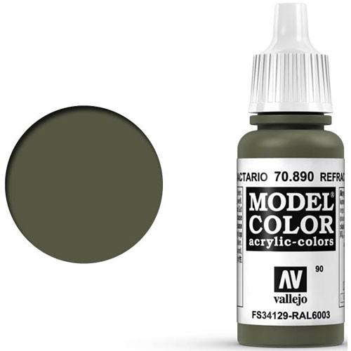 Vallejo Model Color Paint: Refractive Green
