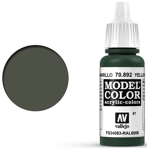 Vallejo Model Color Paint: Yellow Olive