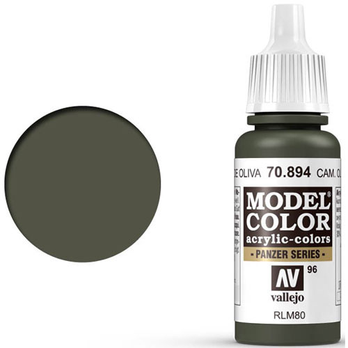 Vallejo Model Color Paint: Camouflage Olive Green