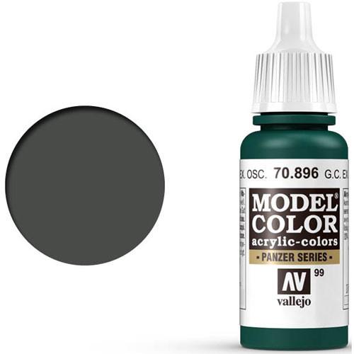Vallejo Model Color Paint: German Camo Extra Dark Green