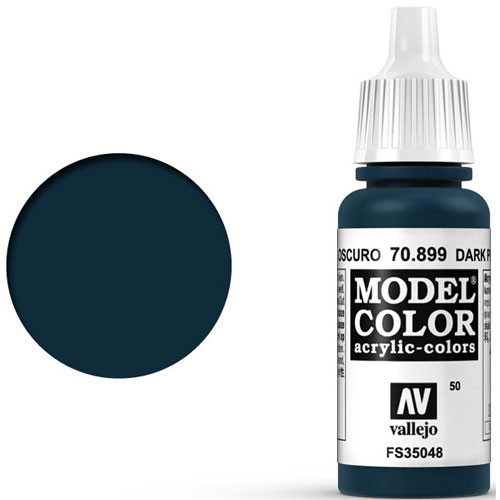 Vallejo Model Color Paint: Dark Prussian Blue