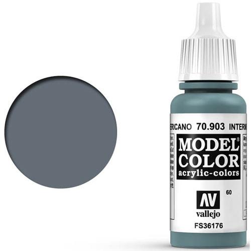 Vallejo Model Color Paint: Intermediate Blue
