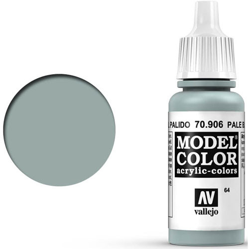 Vallejo Model Color Paint: Pale Blue
