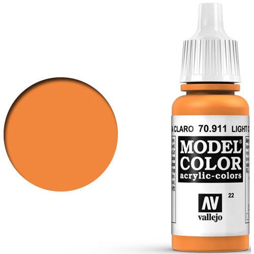 Vallejo Model Color Paint: Light Orange