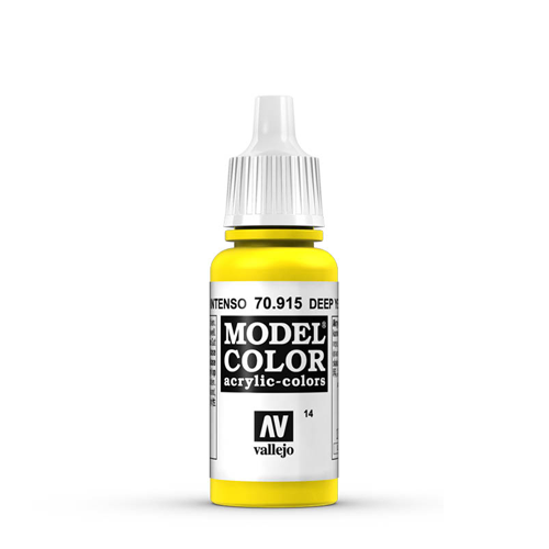 Vallejo Model Color Paint: Deep Yellow