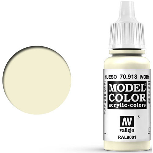 Vallejo Model Color Paint: Ivory