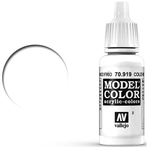 Vallejo Model Color Paint: Cold White