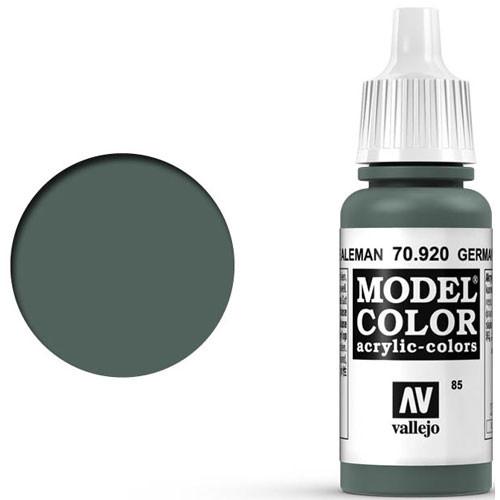 Vallejo Model Color Paint: German Uniform Green