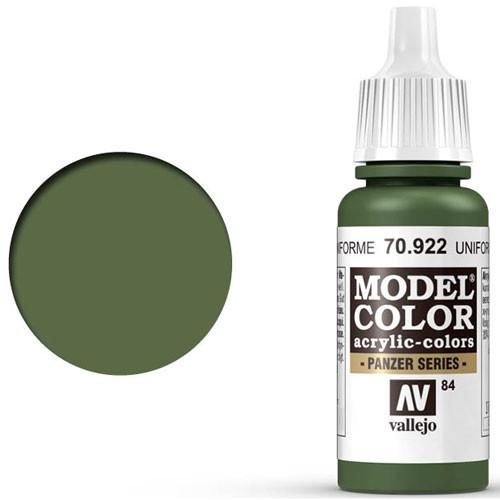 Vallejo Model Color Paint: USA Uniform Green