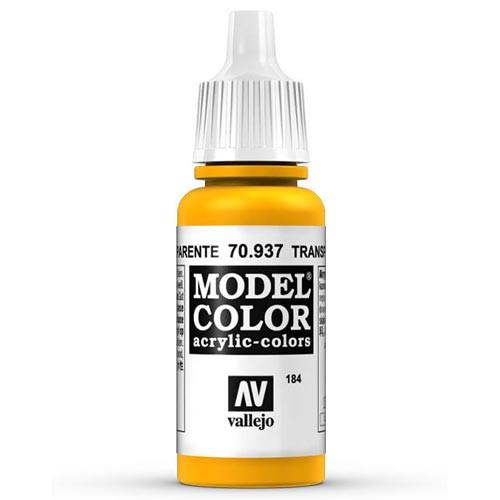 Vallejo Model Color Paint: Transparent Yellow