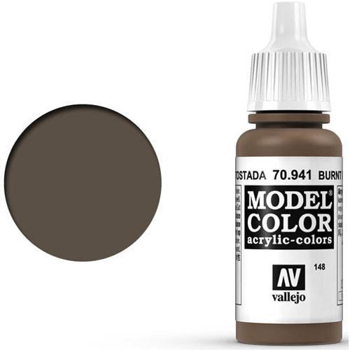 Vallejo Model Color Paint: Burnt Umber