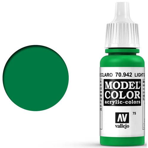 Vallejo Model Color Paint: Light Green