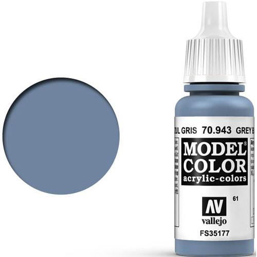 Vallejo Model Color Paint: Grey Blue