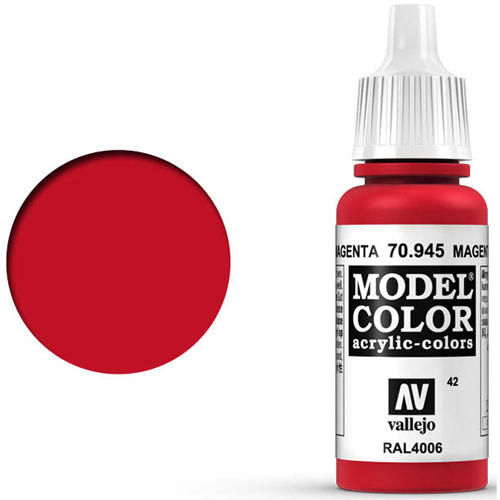 Vallejo Model Color Paint: Magenta