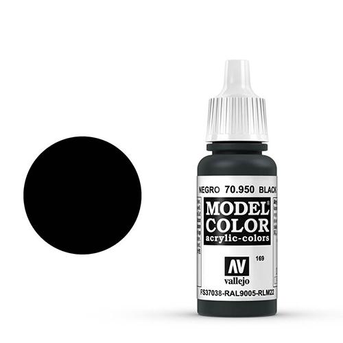 Vallejo Model Color Paint: Black