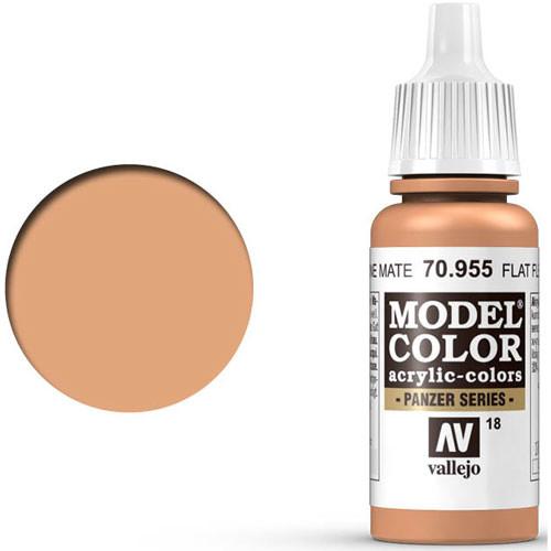 Vallejo Model Color Paint: Flat Flesh