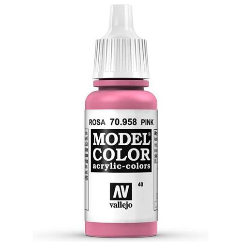 Vallejo Model Color Paint: Pink