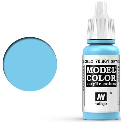 Vallejo Model Color Paint: Sky Blue