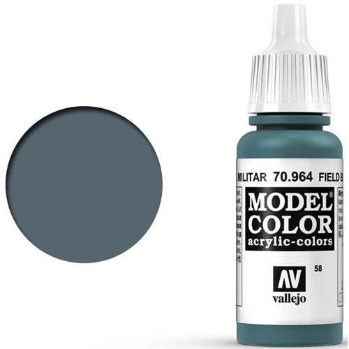 Vallejo Model Color Paint: Field Blue