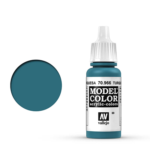 Vallejo Model Color Paint: Turquoise