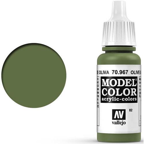 Vallejo Model Color Paint: Olive Green