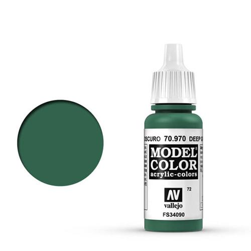 Vallejo Model Color Paint: Deep Green