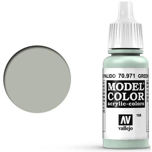 Vallejo Model Color Paint: Pale Green Grey