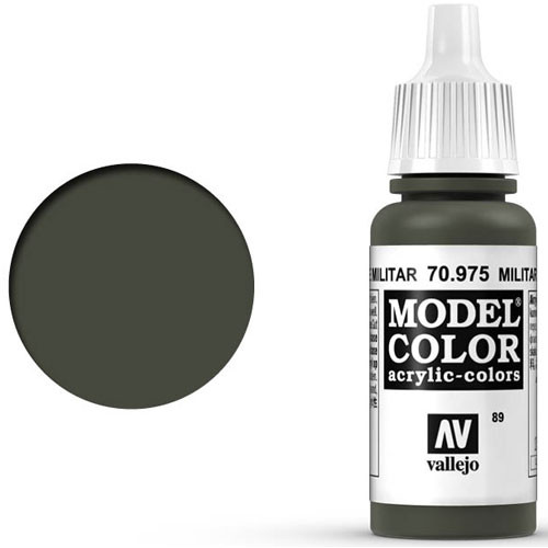 Vallejo Model Color Paint: Military Green