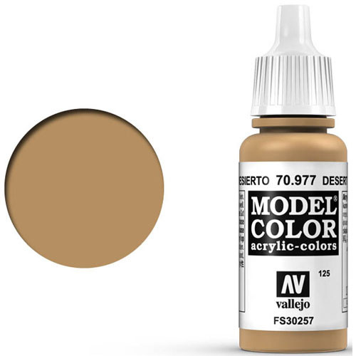 Vallejo Model Color Paint: Desert Yellow