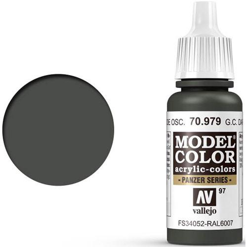 Vallejo Model Color Paint: German Camo Dark Green