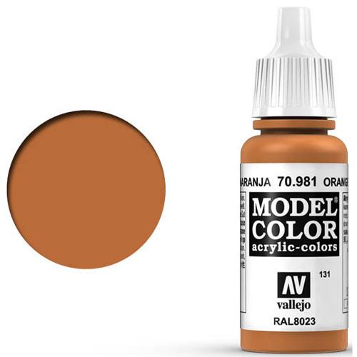 Vallejo Model Color Paint: Orange Brown