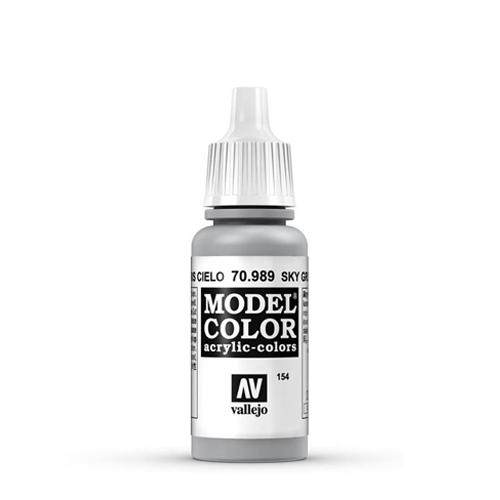 Vallejo Model Color Paint: Sky Grey