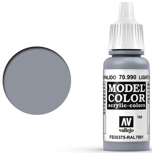 Vallejo Model Color Paint: Light Grey