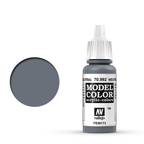 Vallejo Model Color Paint: Neutral Grey
