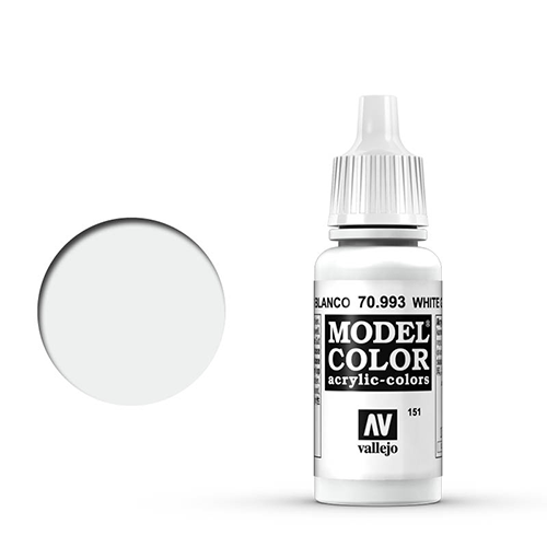 Vallejo Model Color Paint: White Grey