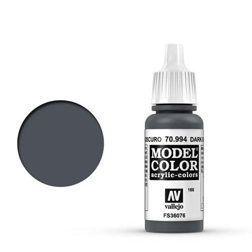 Vallejo Model Color Paint: Dark Grey
