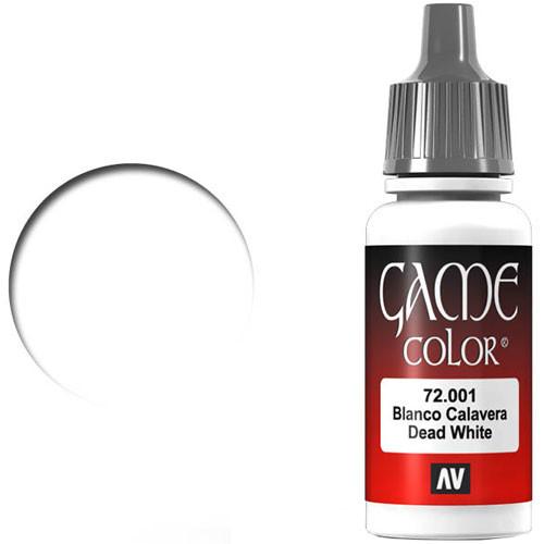Vallejo Game Color: Dead White (17ml)