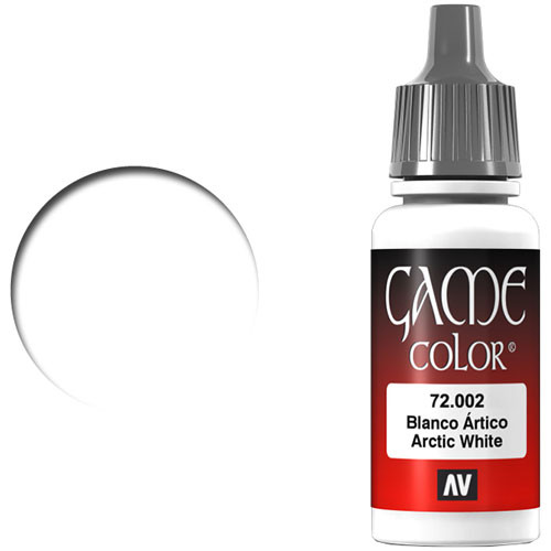 Vallejo Game Color: Arctic White (17ml)