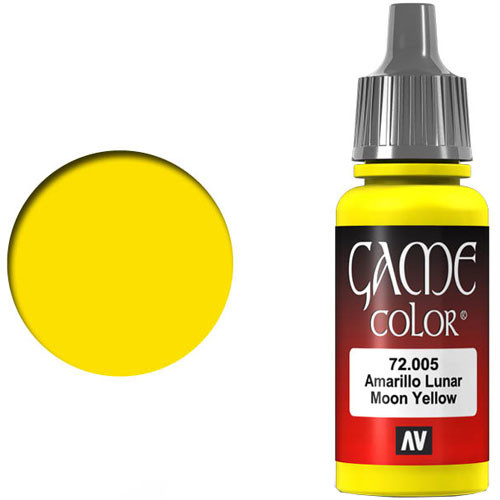 Vallejo Game Color: Moon Yellow (17ml)