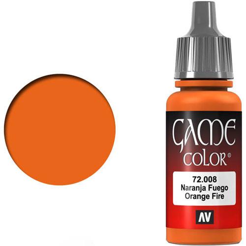 Vallejo Game Color: Orange Fire (17ml)