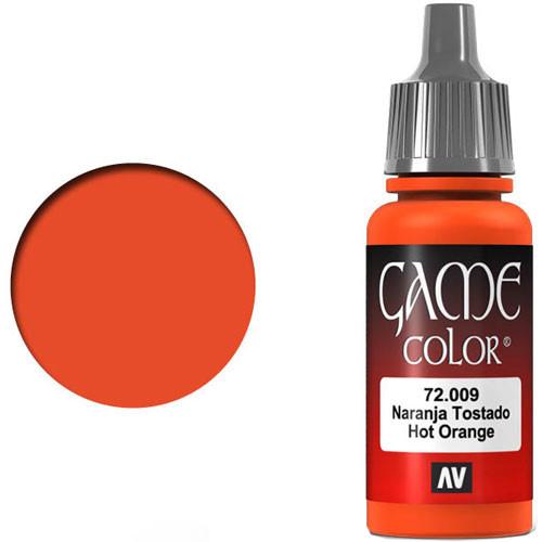 Vallejo Game Color: Hot Orange (17ml)